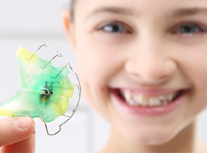Orthodontic treatment for very young patients